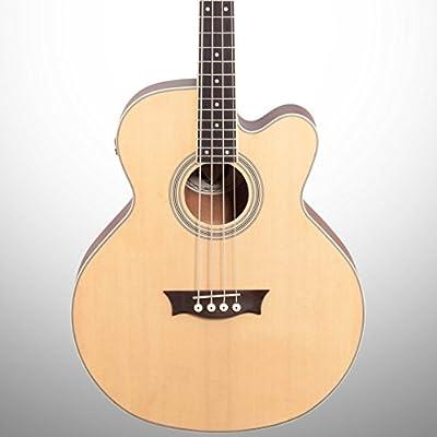 Dean EABC Cutaway Acoustic-Electric Bass Guitar - Natural
