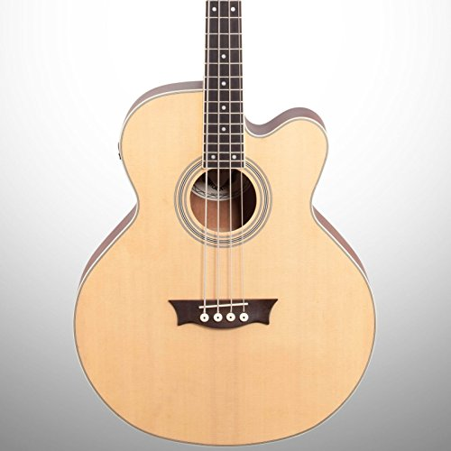 Dean EABC Cutaway Acoustic-Electric Bass Guitar - Natural ()