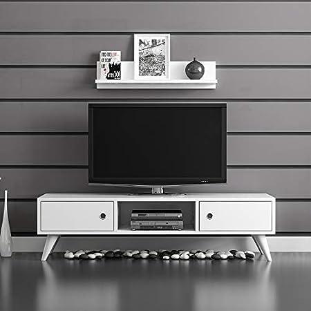 Home Factory Set Mesa para Televisor 2 Uds. Aspen: Amazon.es: Hogar