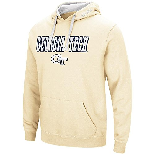 - Colosseum Mens Georgia Tech Yellow Jackets Pull-Over Hoodie - XL