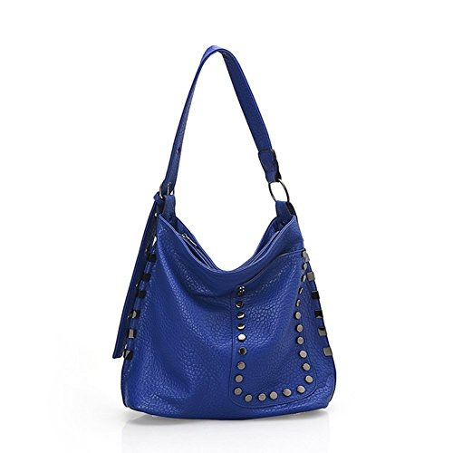 Walcy Fashionable PU Leather Leisure Women's Handbag,Bucket-Type Bucket Bag HB880001C2