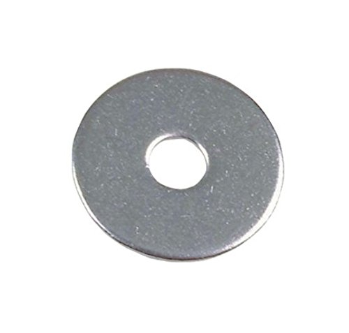 Bulk Hardware BH02053 Penny Repair Mudguard Fender Washer, 25mm x 6mm  (1 inch x 1/4 inch) Hole - Pack of 10