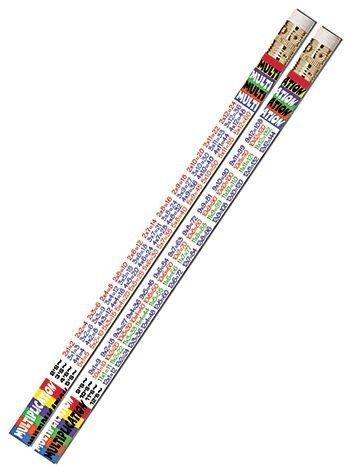 Bote con 72 l/ápices HB con goma de borrar. Staedtler 1822 KP72 L/ápices escolares con la tabla de multiplicar