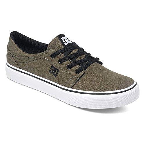 Pour De Chaussures Olive Fonce Homme Trase Skateboard Dc Tx qZaUxXX