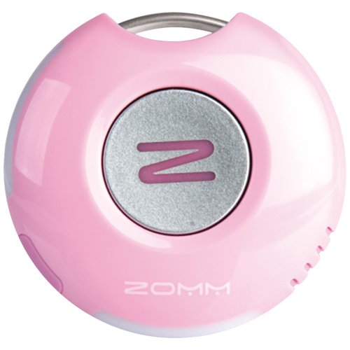 ZOMM-Wireless-Leash-for-Mobile-Phones-Bluetooth-Speakerphone-and-Personal-Safety-Device-Pink