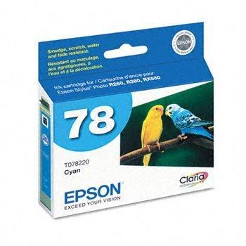 Epson T078 Claria Hi-Definition 78 Standard-capacity Inkjet Cartridge