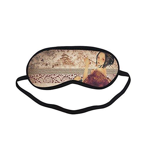 (Customized Geisha Sleeping Eyes Masks/Eyeshade/Blindfold Relax Sleep)