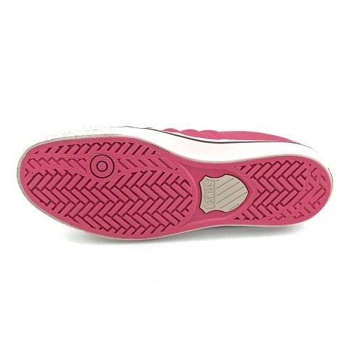 K-Swiss - Zapatillas de Lona para mujer Rosa fucsia