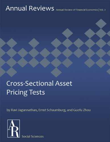 Cross-Sectional Asset Pricing Tests (Annual Review of Financial Economics Book 2)