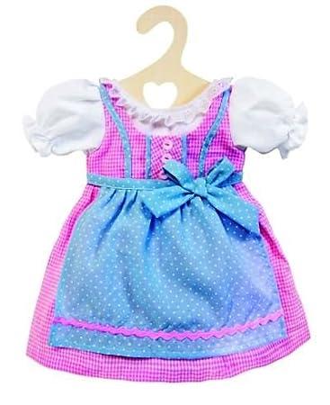 Heless 2111 - Puppenkleidung, fesches Dirndl für 35 cm bis 45 cm große Puppen