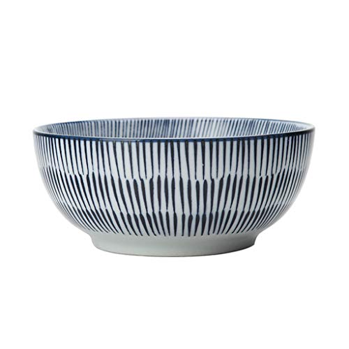 JIANMING Bowls Japanese Style Thousand Paragraph Grass Ceramic Dishes Creative Soup Bowl Noodles Sushi Plate Retro Cutlery