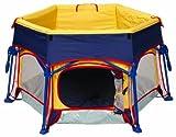 Primo Play Yard Cabana, Navy/Yellow