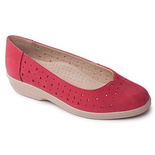 Padders ,  Damen Sandalen Rosso (rosso)