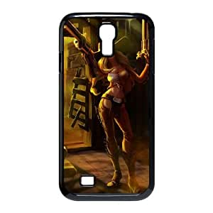 Samsung Galaxy S4 9500 Cell Phone Case Black League of Legends Cowgirl Miss Fortune Ftblg