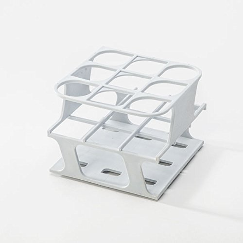 Half-Size Freezer Rack for 30mm Test Tubes - WH - 1 Each by Heathrow Scientific