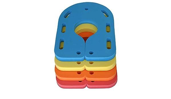 Tabla de natación ayuda cuello flotador de natación rehabilitación 550 x 400 x 38 mm, New verde: Amazon.es: Deportes y aire libre