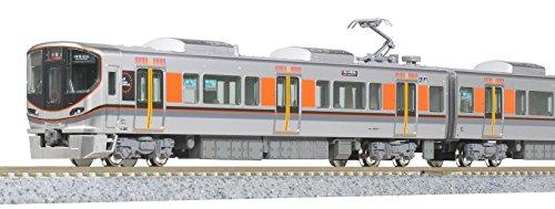 [해외] KATO N게이지 323 계오사카 순환선 기본 세트 (4냥) 10-1465 철도 모형 전철