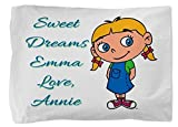 Little Einsteins Annie Personalized Pillowcase Pillow Case for Child Boy or Girl Christmas Gift