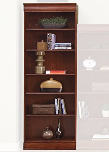Cabinet Traditional Bookcase Cherry (Liberty Furniture Industries 101-HO3084-RTA Louis Jr Executive Bookcase 30