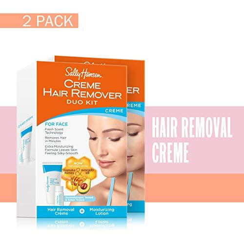- Sally Hansen Cream Hair Remover Kit, 2 Count
