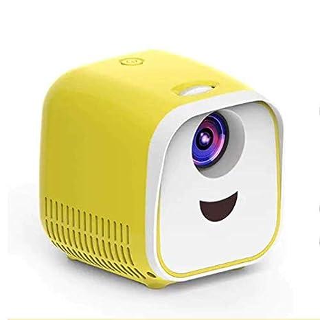 TOPQSC Mini proyector Proyector LED Full HD Proyector de Bolsillo ...