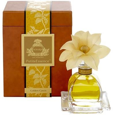 Golden Cassis Flower Petitte Essence Reed Diffuser by Agraria San Francisco