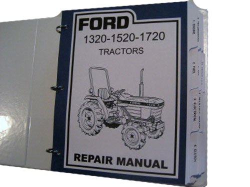 ford 2000 tractor service manual - 6