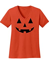 Jack O' Lantern Pumpkin Halloween Costume T-Shirt for Men Women