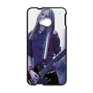 HTC One M7 Cell Phone Case Black Avril Lavigne Guitar Z3N6KC