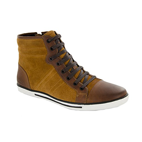 Kenneth Cole New York Men Base Down Low Sneaker Rust
