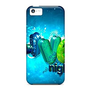 XErNlGK6604fRXGf Case Cover Protector For Iphone 5c Live Night Case