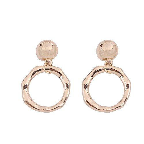- Botrong Earring, Women Girl Earrings Fashion Jewelry 1Set Stud Earring (Style A)