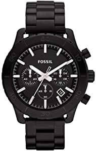 FOSSIL CH2816 Keaton Stainless Steel Watch – Black NEW