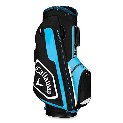 Callaway Golf 2019 Chev Cart Bag, Black/Blue/White