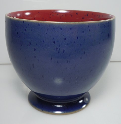 Blue Open Sugar Bowl - Denby Harlequin Open Sugar Bowl 3