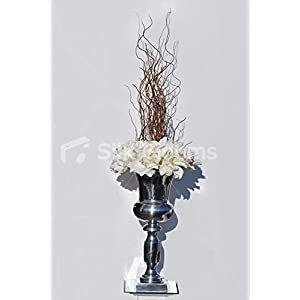 Elegant Ivory Amaryllis w/ Spiralling Branches 59