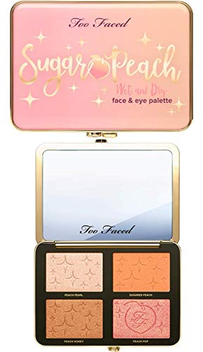 TOO FACED Sugar Peach Wet and Dry Face & Eye Palette