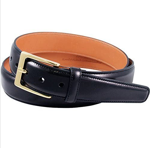 Trafalgar Cortina Big /& Tall Leather Belt in Black