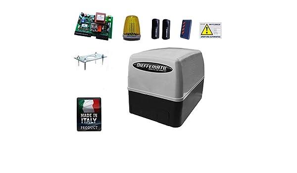 Kit Automatismos puertas correderas 400 KG Compatible BENINCA Cardin Dea Rib Tau: Amazon.es: Hogar
