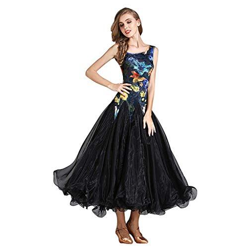 YTS Modern Dress Skirt Dress Dance Skirt Long Sleeve Dress