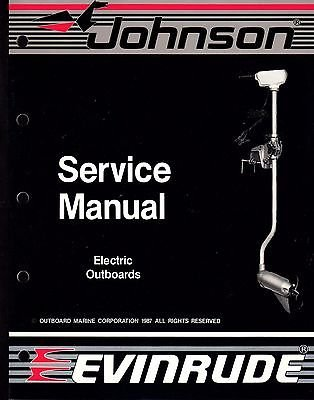 1988 OMC EVINRUDE/JOHNSON ELECTRIC OUTBOARDS SERVICE MANUAL P/N 507658 (243)