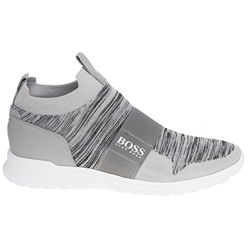 discount clearance buy cheap best store to get BOSS Green Extreme Slip On Knit Trainers Grey Grey finishline cheap price outlet online YjH0P