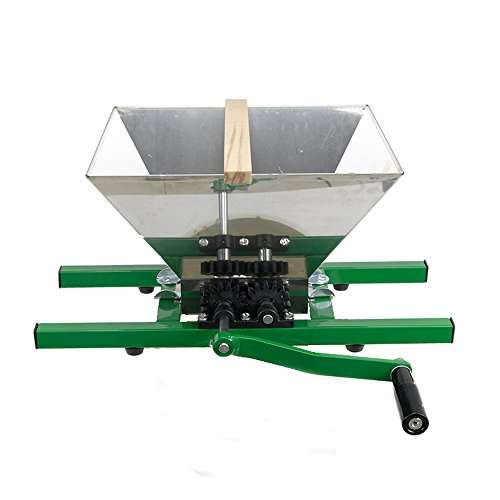EJWOX 7Litres Fruit and Apple Crusher, Fruit Scratter Pulper for Cider Wine (Stainless Steel) by EJWOX