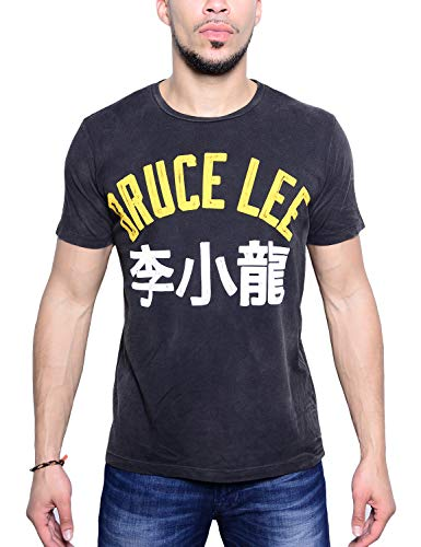 - Roots of Fight Officially Licensed Men's Bruce Lee Boast Quote Tee Shirt, Size X-Large