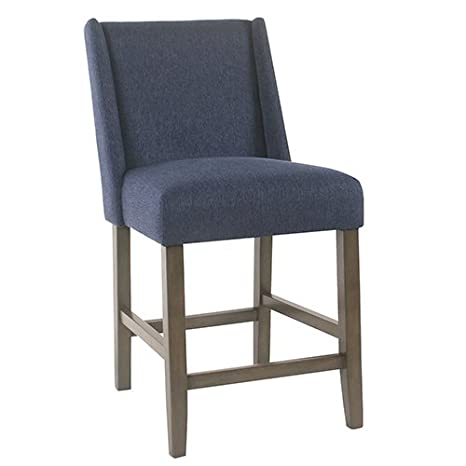 Admirable Dinah Modern Counter Stool Indigo Machost Co Dining Chair Design Ideas Machostcouk