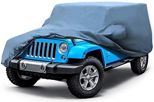 Leader Accessories Jeep Wrangler 1987-2013 CJ ,YJ, TJ,& JK 2 Door Waterproof Car (Power Seat Waterproof Cover)