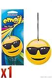 Retro Scents Emoji Car Air Freshener Ice Cool - Cool Dude