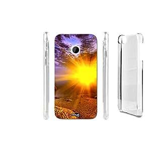 FUNDA CARCASA LUCE SU SPIAGGIA PARA HTC ONE M7