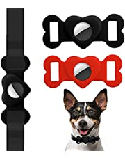 2 Pack Protective Case for AirTag 2021,Air Tag Holder for Dog Collar,Waterproof & Anti-Scratch AirTag Case, Airtag Accessories