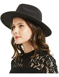 30542ca85af29a Women or Men Woolen Felt Fedora Vintage Short Brim Crushable Jazz Hat